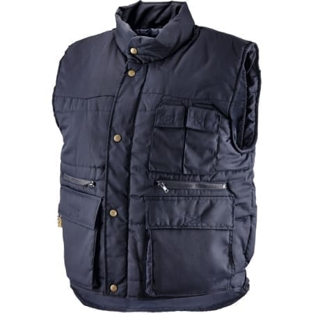 Gilet in 65% poliestere - 35% cotone